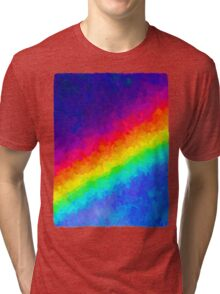 Rainbow in the Dark Tri-blend T-Shirt