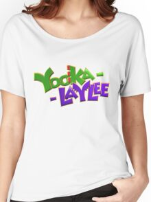 Yooka-Laylee - Logo Women's Relaxed Fit T-Shirt