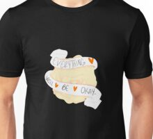 Everything Will Be Okay - Orange Unisex T-Shirt