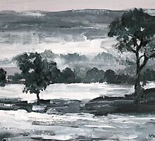 A Winter Landscape by Terence  Kelly