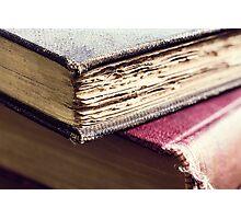 Antique books Photographic Print