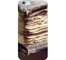 Antique books iPhone Case/Skin