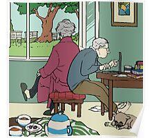 Retirement of Sherlock and John Poster