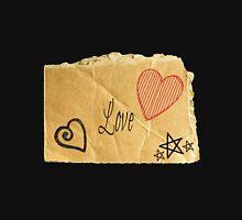 Torn Paper Love Hoodie