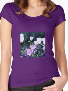 Tulips. Women's Fitted Scoop T-Shirt