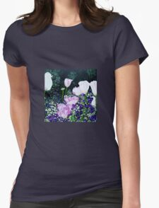 Tulips. Womens Fitted T-Shirt