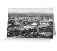 Melbourne Sporting Precinct Greeting Card