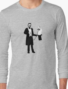 Lincoln's Llama Trick Long Sleeve T-Shirt