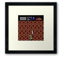 Overlook Link - Zelda/Shining  Framed Print