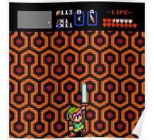 Overlook Link - Zelda/Shining  Poster