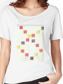 Watercolor Squares Women's Relaxed Fit T-Shirt