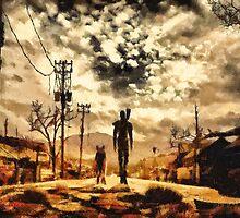 The Lone Wanderer by Joe Misrasi