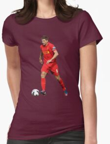 steven gerrard dreable Womens Fitted T-Shirt