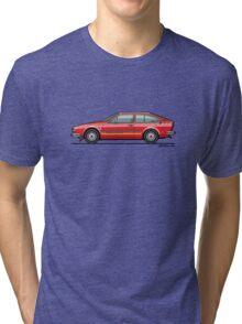 Alfa Romeo Alfetta GTV Turbodelta Tri-blend T-Shirt