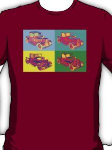 Model A Ford Pickup Hot Rod Pop Art. T-Shirt