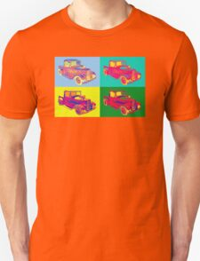 Model A Ford Pickup Hot Rod Pop Art. T-Shirt