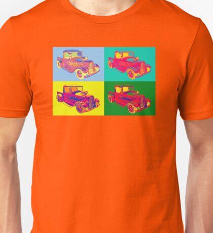 Model A Ford Pickup Hot Rod Pop Art. Unisex T-Shirt