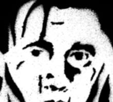 EDWARD SCISSORHANDS FACE Sticker