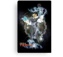 BDZ Tesla Milky Way Canvas Print