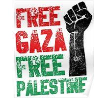 Free Gaza Free Palestine Poster