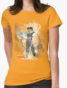 BDZ Tesla Milky Way Womens Fitted T-Shirt