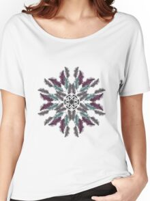 Indian talisman circle of feathers Women's Relaxed Fit T-Shirt