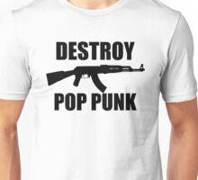 Destroy Pop Punk (Black) Unisex T-Shirt