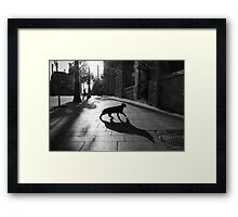 the animal Framed Print