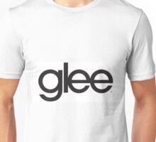 Glee Logo Black Unisex T-Shirt