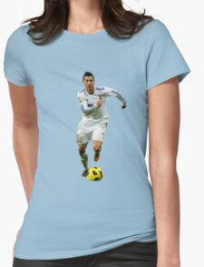 cristiano ronaldo fight Womens Fitted T-Shirt
