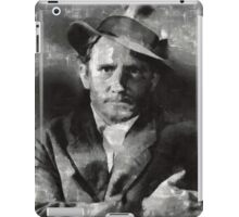 Spencer Tracy Vintage Hollywood Actor iPad Case/Skin