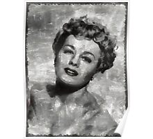 Shelley Winters Vintage Actress Poster