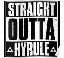 Straight Outa Hyrule Poster