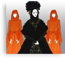 Amidala and her handmaidens Canvas Print