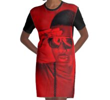 Wizkid - Celebrity Graphic T-Shirt Dress
