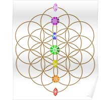 Flower Of Life - Metaphysical Poster