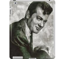 Tony Curtis Vintage Hollywood Actor iPad Case/Skin