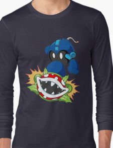 Blue Bob-omber Long Sleeve T-Shirt