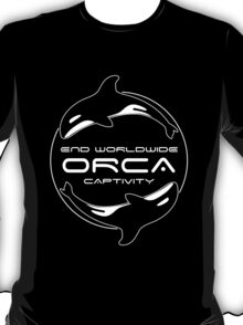End Worldwide Orca Captivity T-Shirt