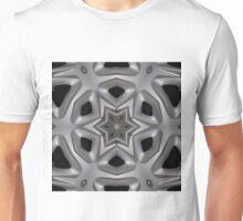 Wheel hub kaleidoscope Unisex T-Shirt