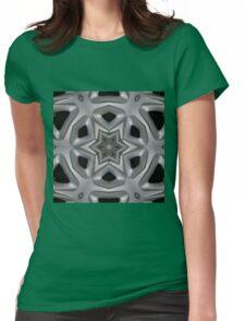Wheel hub kaleidoscope Womens Fitted T-Shirt