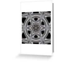 Wheel hub kaleidoscope Greeting Card