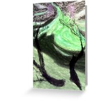 Reaching Into the Green Greeting Card