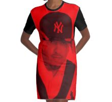 French Montana - Celebrity Graphic T-Shirt Dress