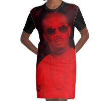 Don Jazzy - Celebrity Graphic T-Shirt Dress