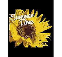 Summer Time Sunflower Photographic Print