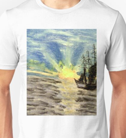 Sailing into the Brightness Unisex T-Shirt