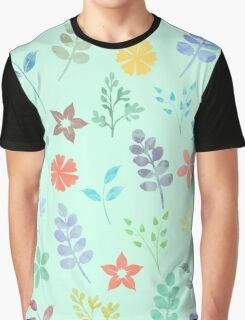 Flower Pattern VI Graphic T-Shirt