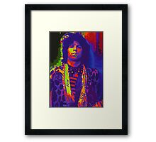 psychedelic keith Framed Print