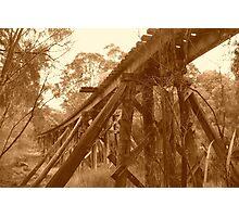 Pemberton Railway Bridge. Photographic Print